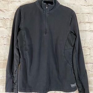 Everlast sport black half zip track jacket sizeM